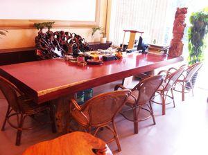 红花梨大板原木茶桌办公桌会议桌餐桌书桌电脑桌老板桌