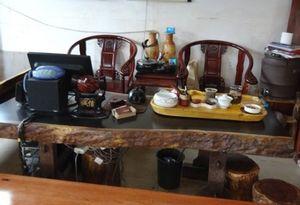 非洲黑檀实木大板原木会议桌茶盘茶几茶桌书桌电脑桌