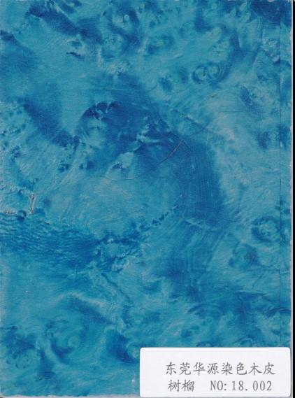 树榴染色木皮18.002