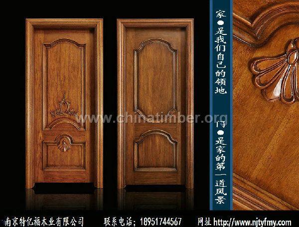 原木套装门