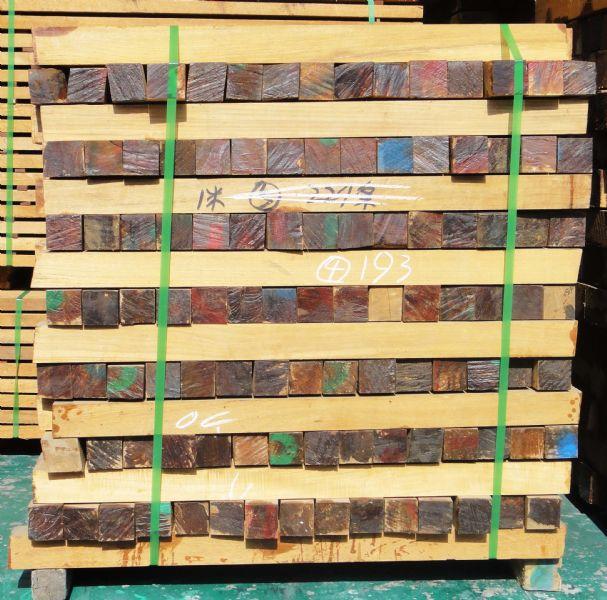 缅甸柚木楼梯柱子料