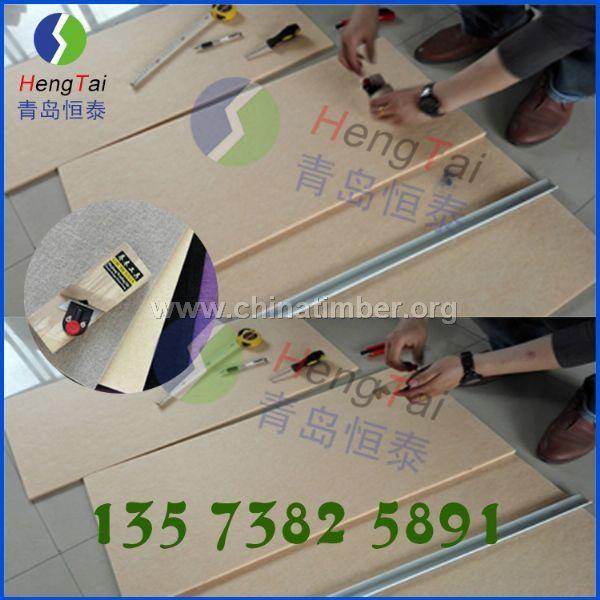 会议室环保聚酯纤维吸音板,吸音材料 隔音材料