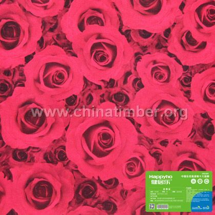 健居乐生态板红玫瑰