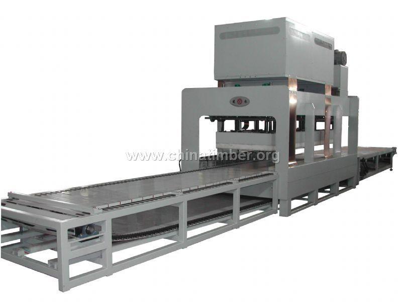 台湾建承高周波拼板机