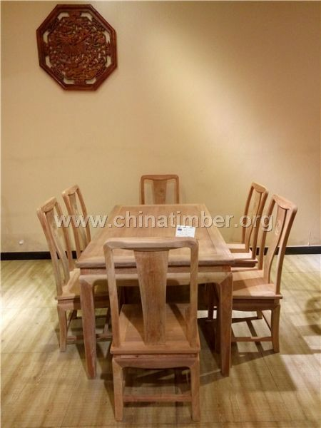 雍王府红木 雍王盛世西餐桌 缅甸花梨木