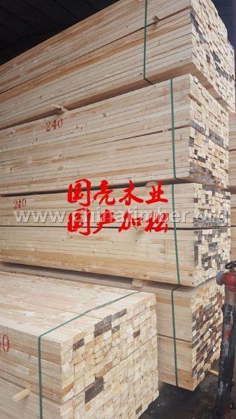 安徽湖南建筑木方 国产加松铁杉木方刨光