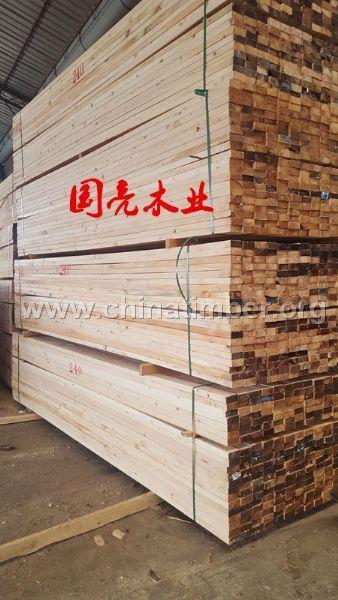 建筑方木口料国产加松木方铁杉