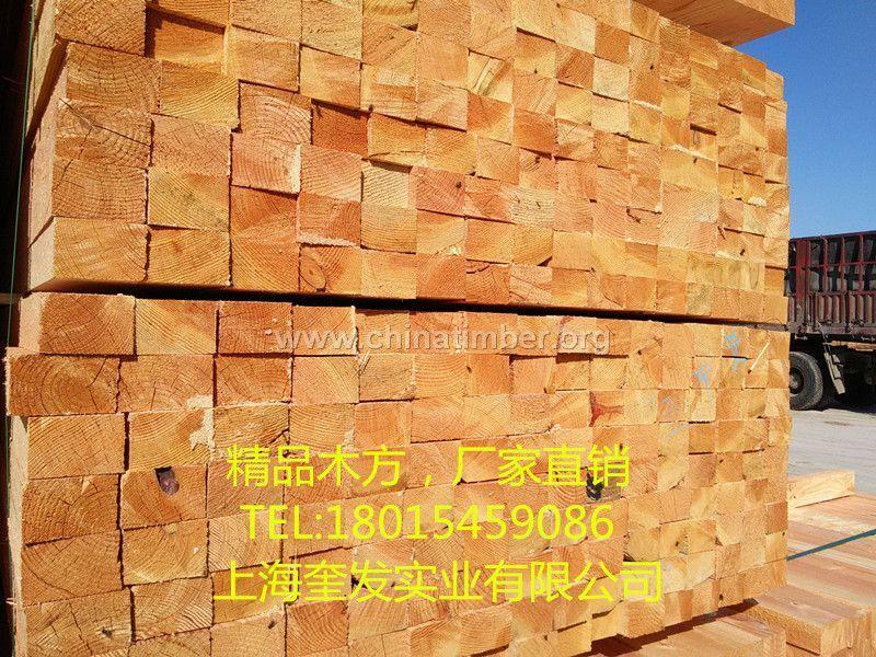 建筑木方精品木方辐射松木方