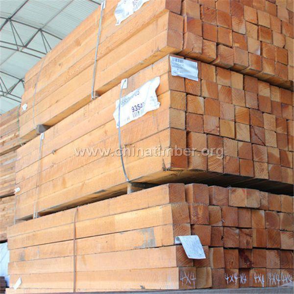厂家直销 铁杉木方 铁杉口料 铁杉工程板材 铁杉方