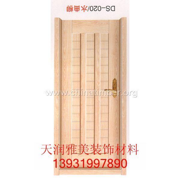 坚固耐用免漆这下门样式新颖木门直销免漆门