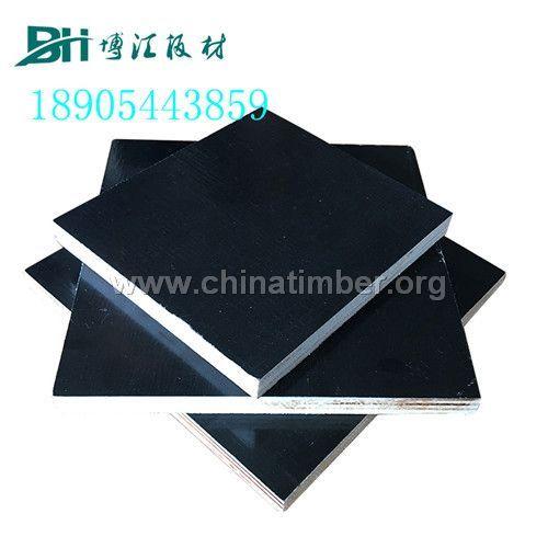 清水模板4*8尺覆膜清水模板双面可用博汇杨木夹板