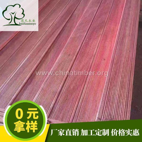 巴劳木红梢木原木板材