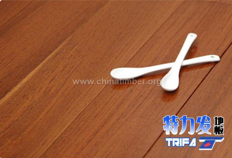 特力发地板-供应印尼柚木实木地板