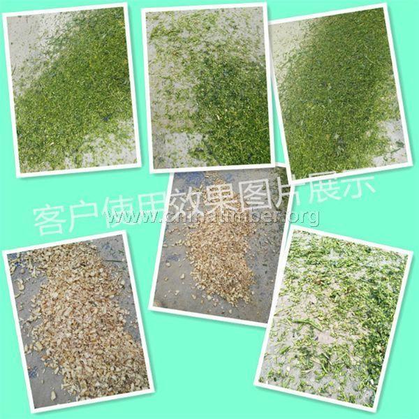 �r作物的粉碎�C、�草、揉草粉碎一步到位