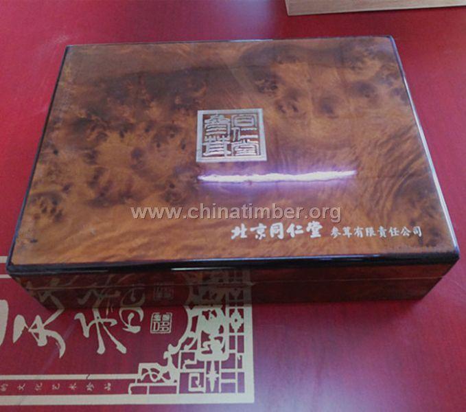 北京人参木盒价格-瑞胜达厂家直销