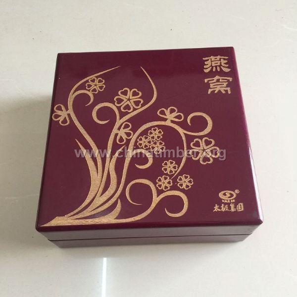 北京燕窝木盒供应商-瑞胜达做工细致精美