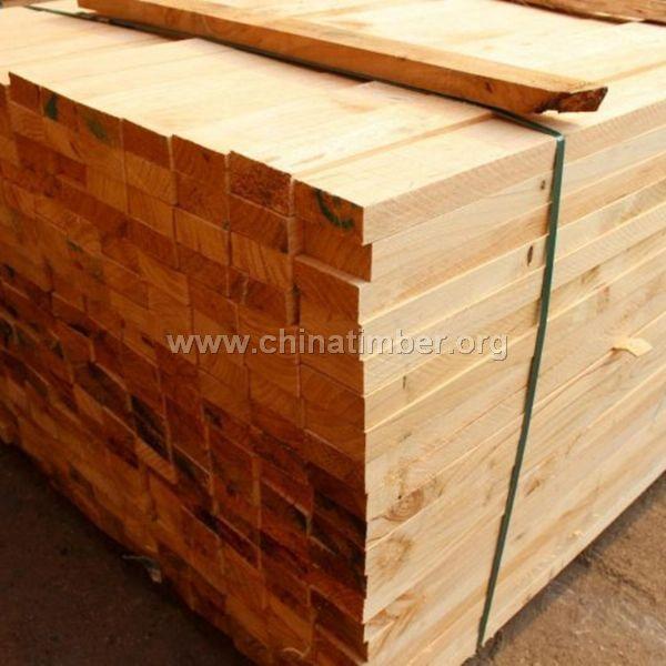 供应工地白松辐射松建筑木方