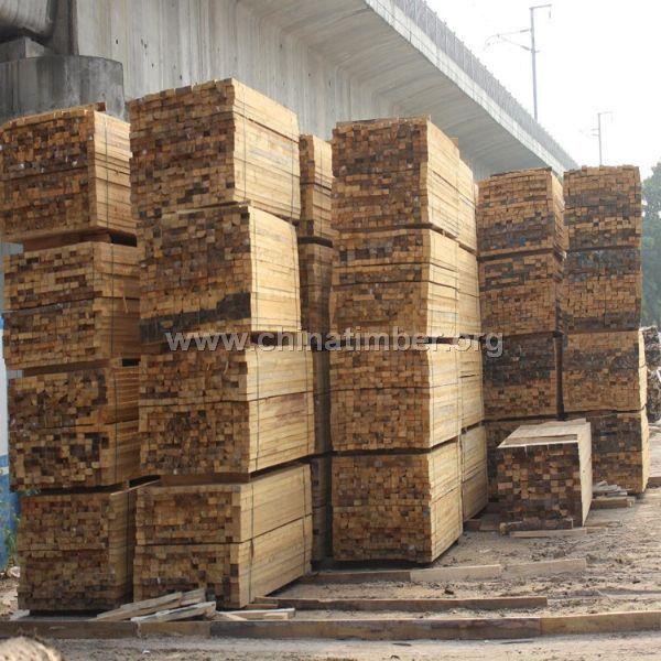 销售白松辐射松杂木木方