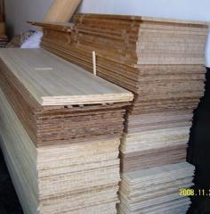 竹板竹集成材-竹刨切枋