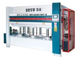 家具制造机械MH3848X100T-B热压机