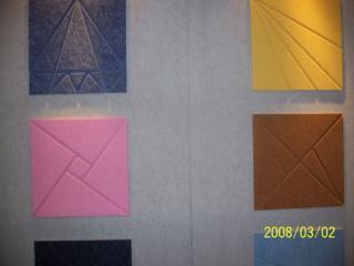 装饰吸音材料----聚酯纤维板,西安吸音板