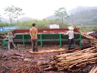 木材剥皮机