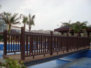塑木(木塑)栏杆型材