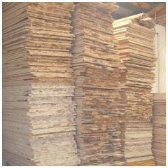 两面光杉木床板
