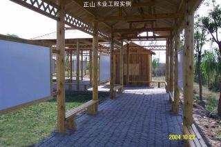 回廊及木屋