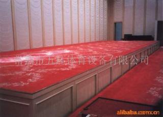 橡胶木舞台专用实木地板
