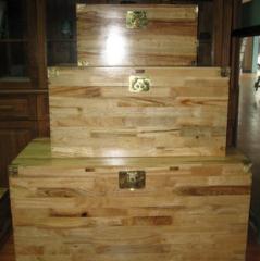香樟木实木箱