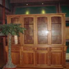 缅甸柚木书柜