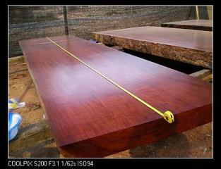 红花梨大班桌
