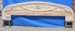 实木床头-鱼床