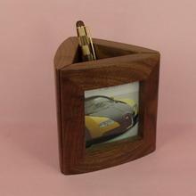 木制相框笔筒