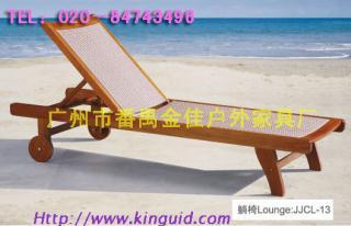 泳池躺椅 户外躺椅 户外沙滩椅 折叠沙滩椅