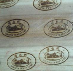木制品商标图案烫印机
