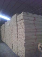 优质杉木三拼板  厚度1.35cm
