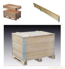 围板箱铰链式围板箱可拆�木箱