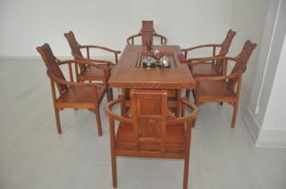 红木茶艺桌家具