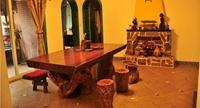 非洲红花梨实木原木大板商务大板花梨木大板