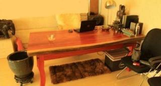 花梨木大板非洲红花梨大板实木原木办公桌时尚画案大吧