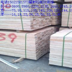 辐射松板材