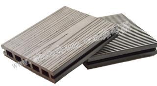 仿木塑木户外地板防水防滑节能地板厂直销花园别墅地板
