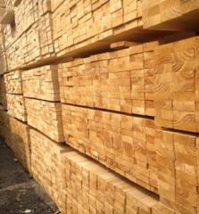大量批发辐射松 原木板材口料木方