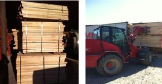 新到进口榉木直边材料