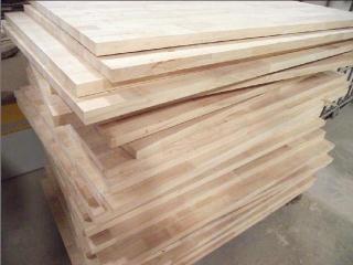 橡胶木指接板
