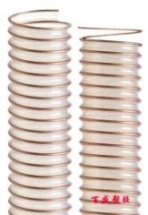 家具厂PU透明钢丝吸尘通风软管