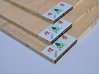 煌荣板材 梯形木工板 16mm 杨木大芯 着色性好