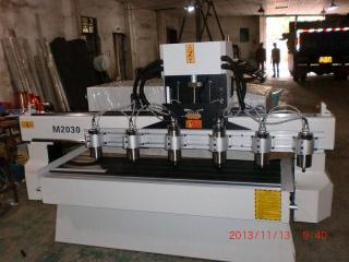 M2030木工雕刻机,木工机械,多头雕刻机